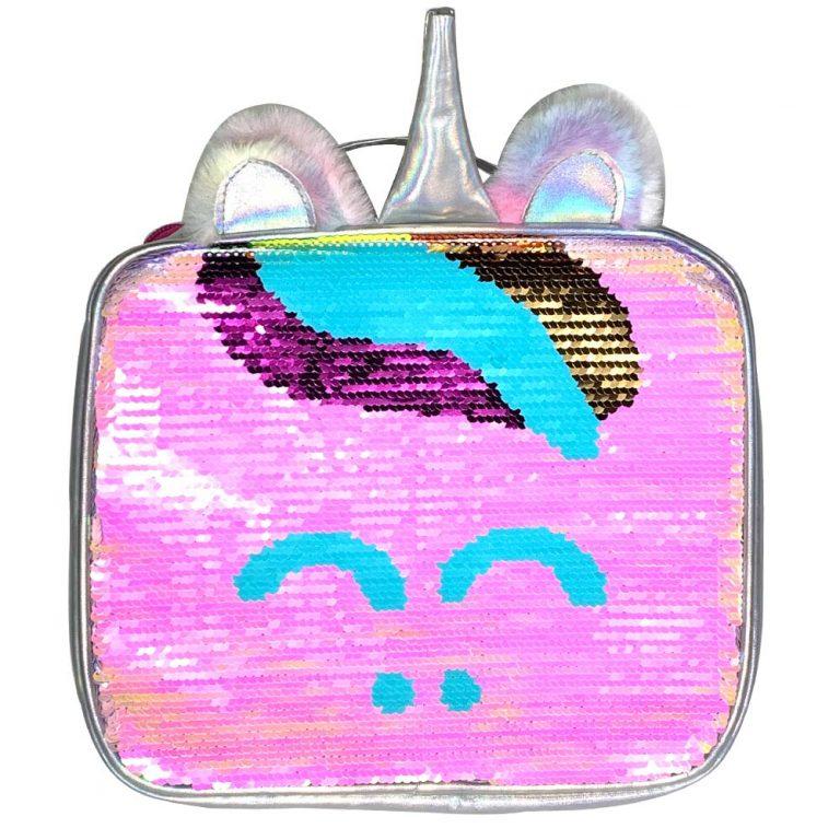 Magic Unicorn Sequin Lunch Box