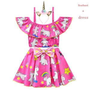 Summer Unicorn Tutu Dress