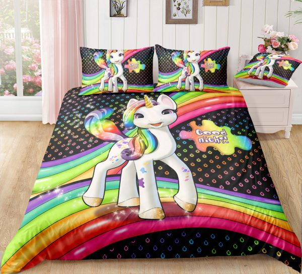 Rainbow Baby Unicorn Bedding Set
