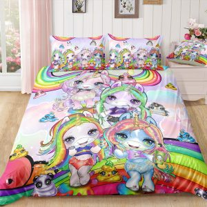 Rainbow Unicorn Friend Bedding Set