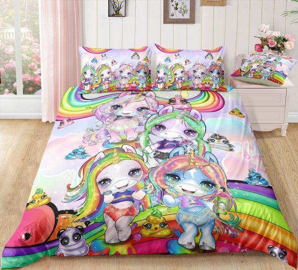 Rainbow Unicorn Friend Bedding Set