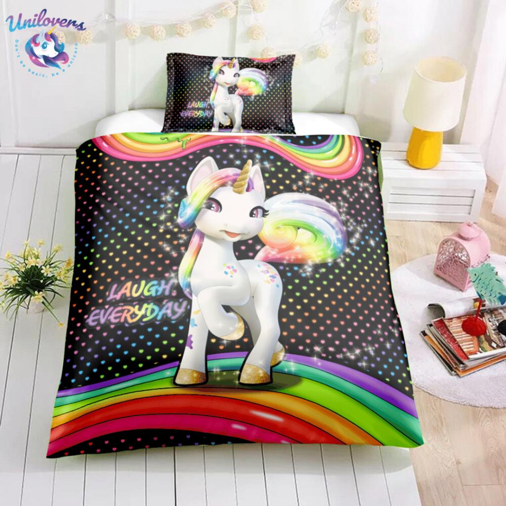 Pony Unicorn Bedding