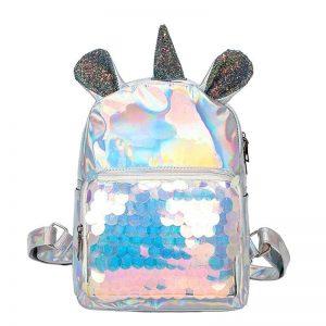 Unicorn Laser Sequin Backpack