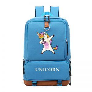 Unicorn Printing Laptop Backpack