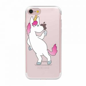 Cute Unicorn Case Cover For iPhone