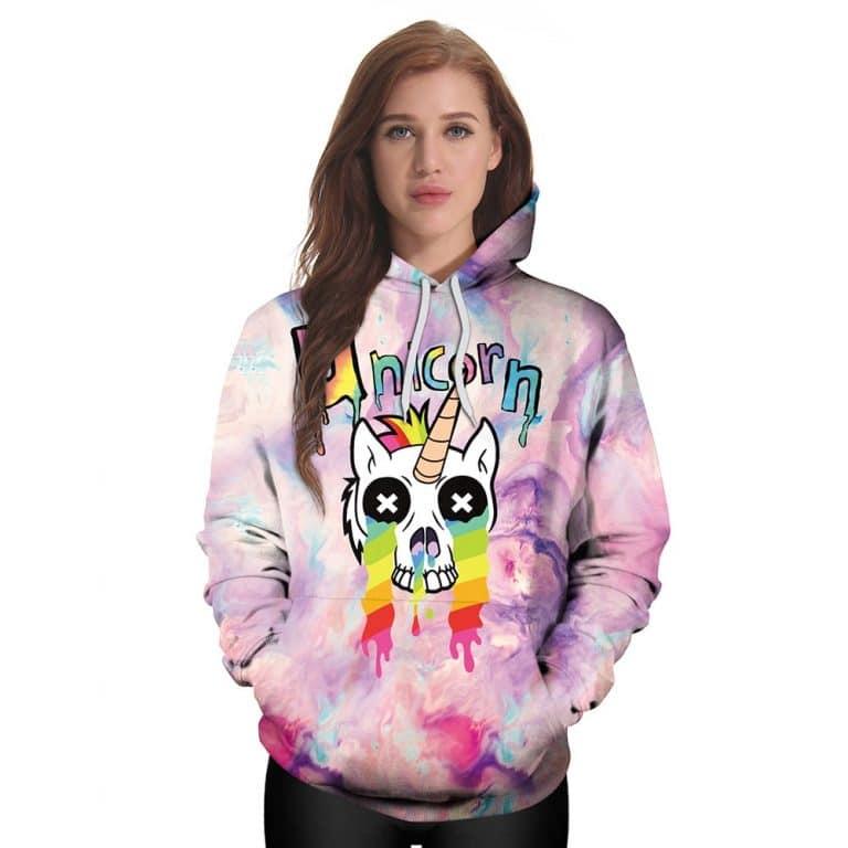 Graffiti Unicorn Hoodie