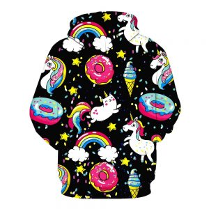 Kid Unicorn Icon Hoodie