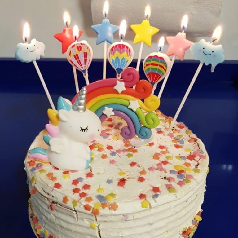 Unicorn Party Cake Topper Decorations