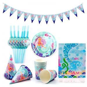 Little Mermaid Birthday Party Decor
