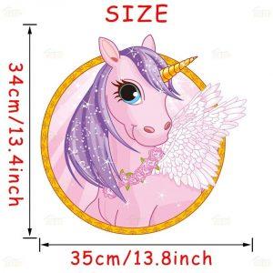 Cute Cartoon Unicorn Wall Stickers