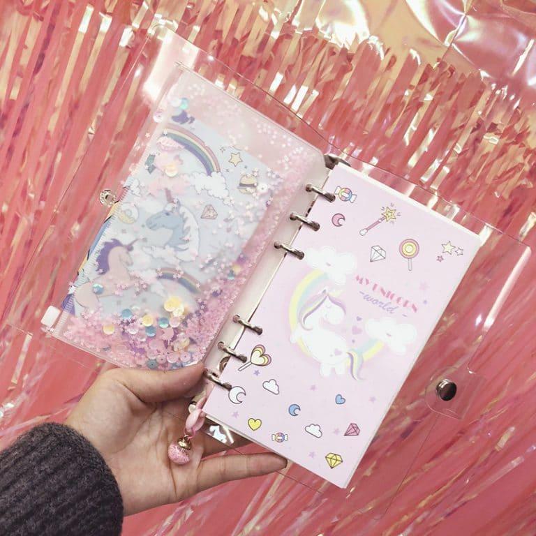 Unicorn Planner A6 Spiral Notebook