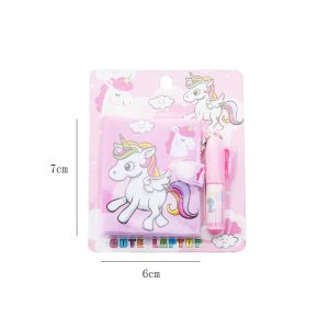 New Unicorn Notebook Ball-point Pen Set