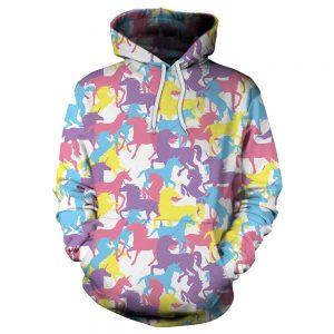 Colorful Unicorn Hoodie