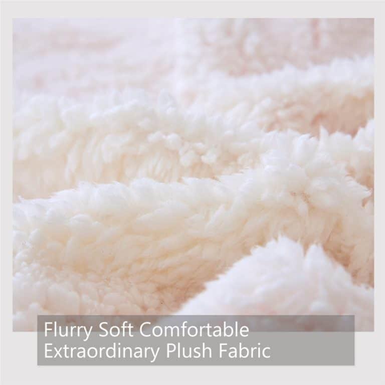 Unicorn Fairy Sherpa Fleece Blanket