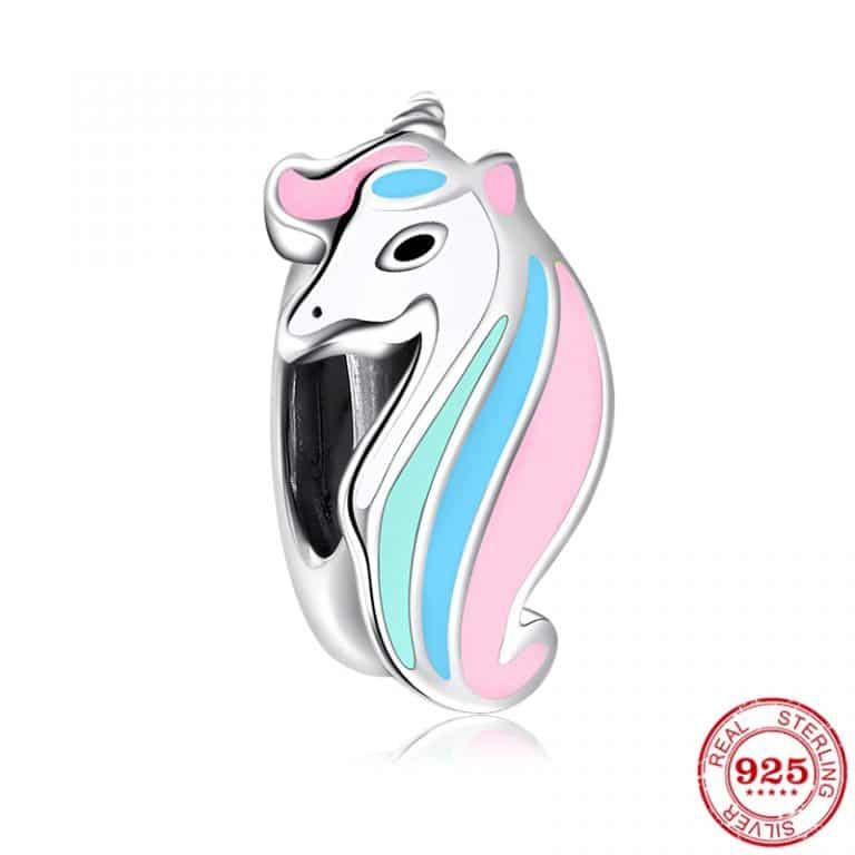 Original Pandora Charms Bracelet 925 Sterling Silver Unicorn