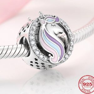 Unicorn Pandora Charm For Bracelet