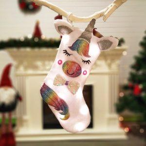 – Dazzle Glowing Unicorn Stocking