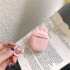 Cute Cartoon Unicorn AirPods Case