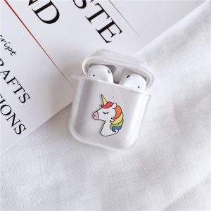 Rainbow Unicorn Airpods Casea