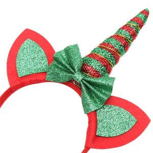 Unicorn Christmas Headband
