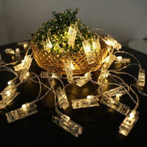 Christmas Tree Unicorn Decorations LED Garland String Lights