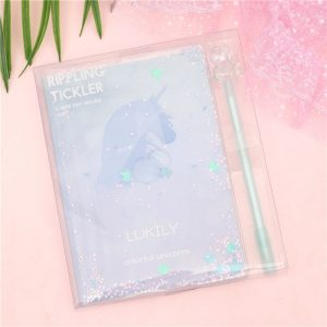 Unicorn Hologram Notebook Planner