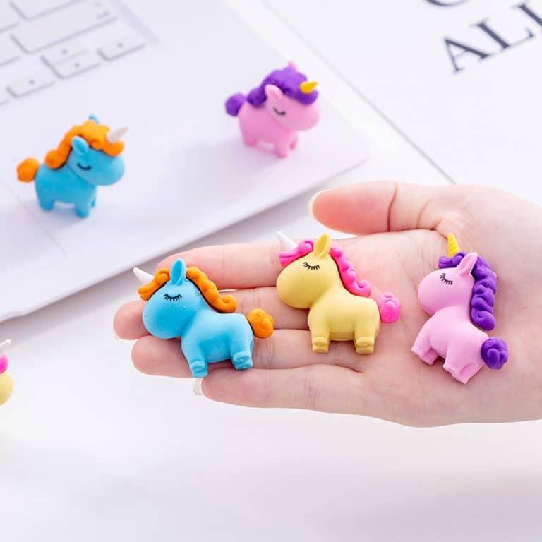 Cute Unicorn Pencil Eraser