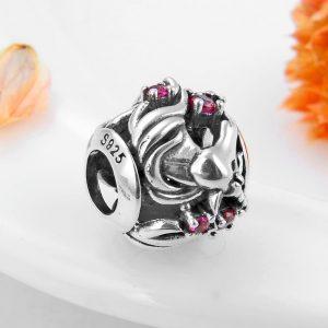 Pinky Unicorn Pandora Charm Bracelet