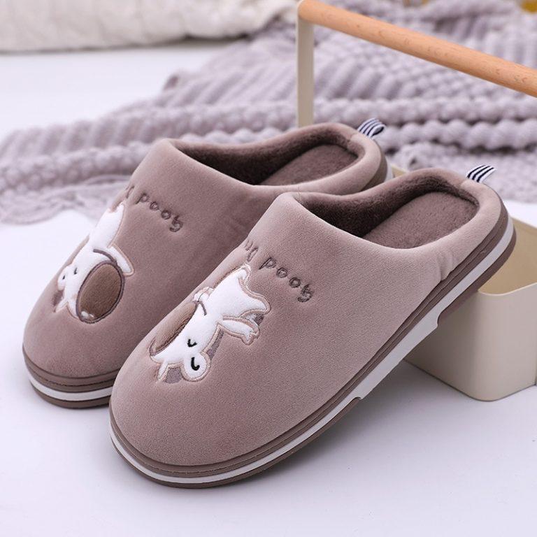 Plush Unicorn Slippers For Kids