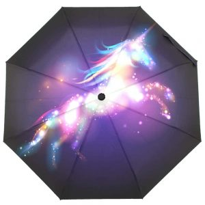 Dazzling Galaxy Unicorn Umbrella