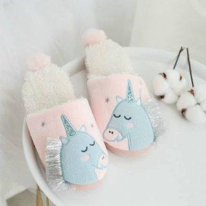 Unicorn Slippers For Girls