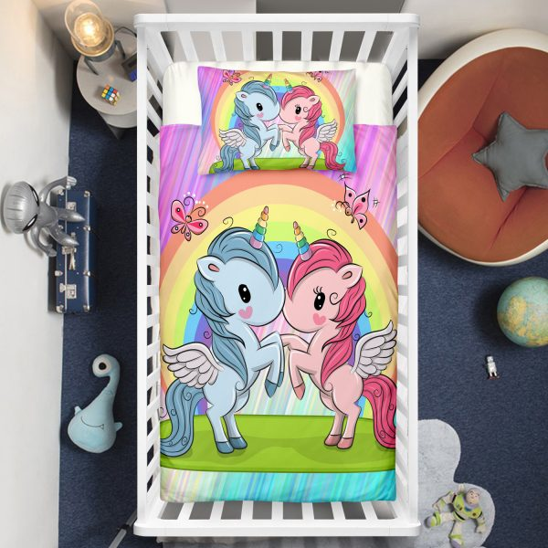 Best-Friend Unicorn Crib Bedding Set