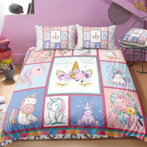 Framing Unicorn Designed Bedding Set