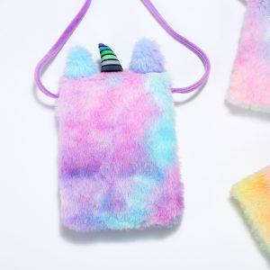 Stuffed Unicorn Shoulder Bag