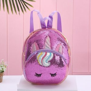 Unicorn Dazzling Sequin Backpack