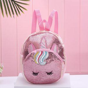 Unicorn Dazzling Sequin Backpack