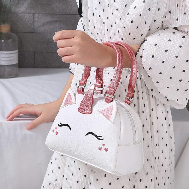Unicorn Cute PU Shoulder Bag/ Hand Bag