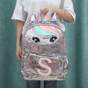 Sequin Hologram Unicorn Backpack