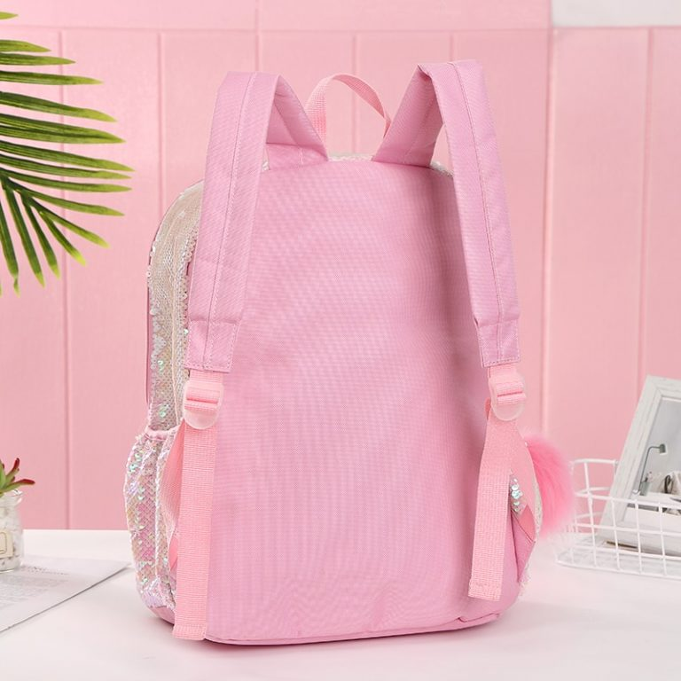 Reversible Sequin Unicorn Backpack