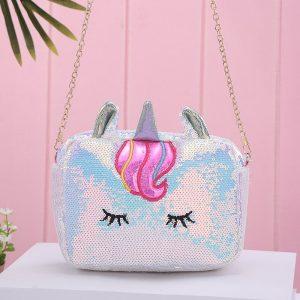 Unicorn Bling Sequined Shoulder Bag