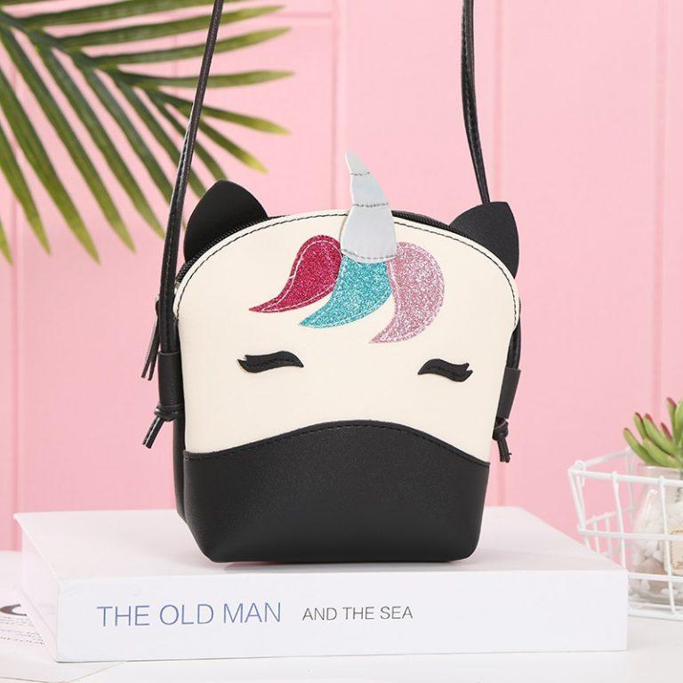 PU Leather Unicorn Bag