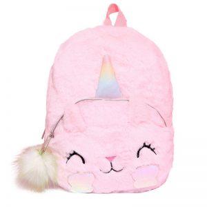 Faux Fur Unicorn Bagpack
