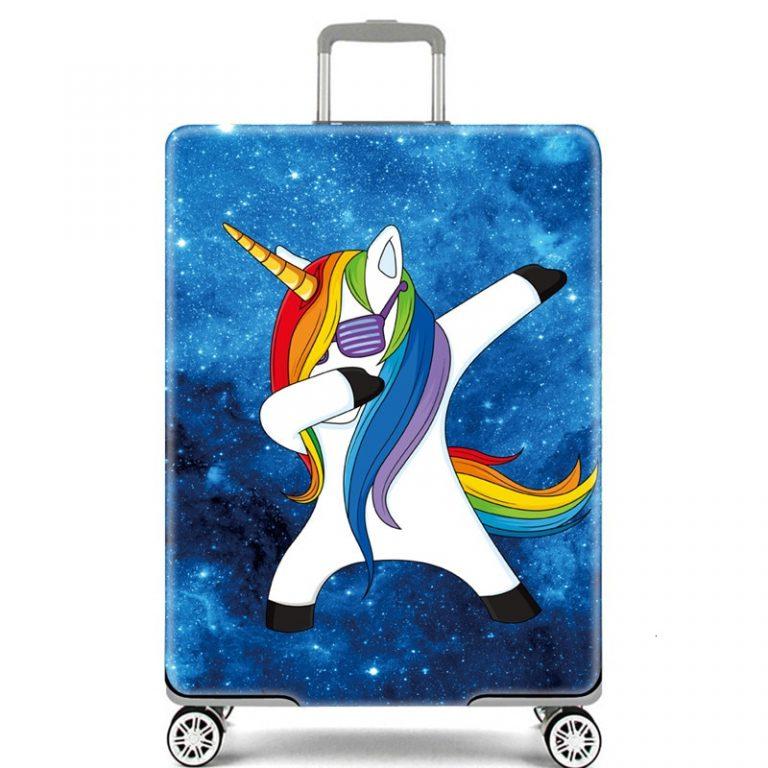 Unicorn Suitcase Cover