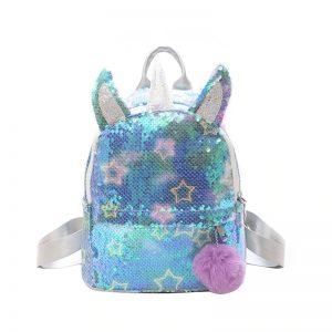 Unicorn Rainbow Sequin Backpack
