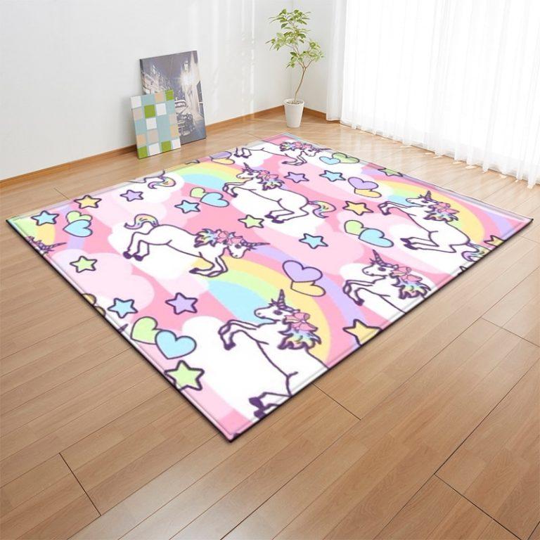 Cartoon Unicorn Carpets