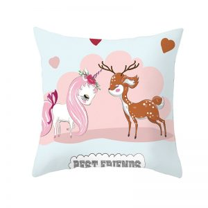 Unicorn Flamingo Pillowcover