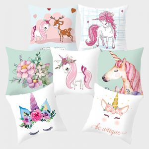 Unicorn Flamingo Pillowcover