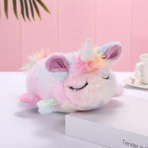Fluffy Unicorn Pencil Bag