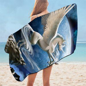 Unicorn Bath Towel