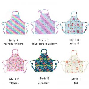 Unicorn Rainbow & Galaxy Apron
